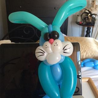Blue Bunny 🐰. #fun #mynewpassion #easte
