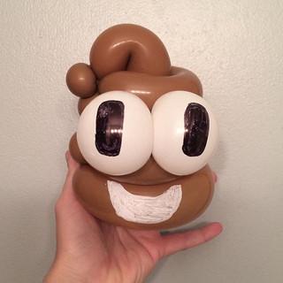 Poo!!! #poop #poopemoji #balloons #ballo