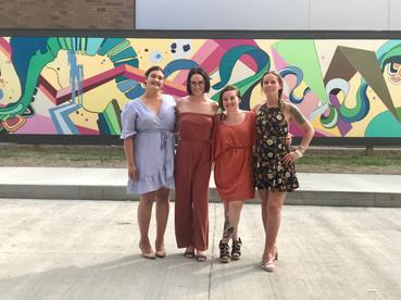 Rhythm of the City Mural Team