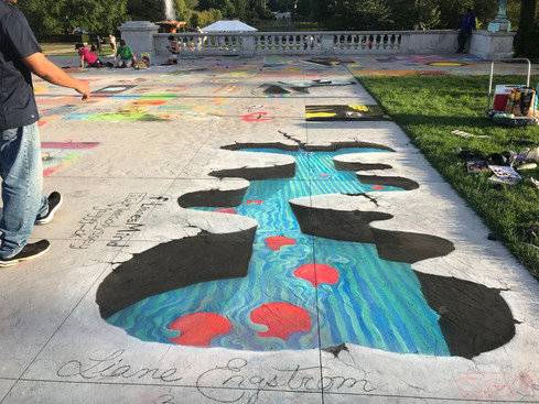 Cleveland Museum of Art Chalk Festival