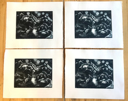 Edition of Zinc Etching
