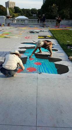 Cleveland Museum of Art Chalk Fest