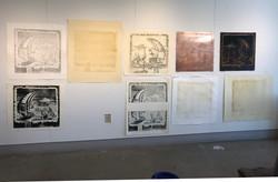 Various printmaking efforts