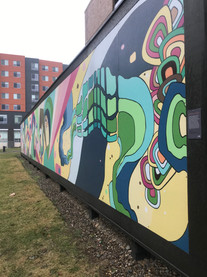 Rhythm of the City Mural