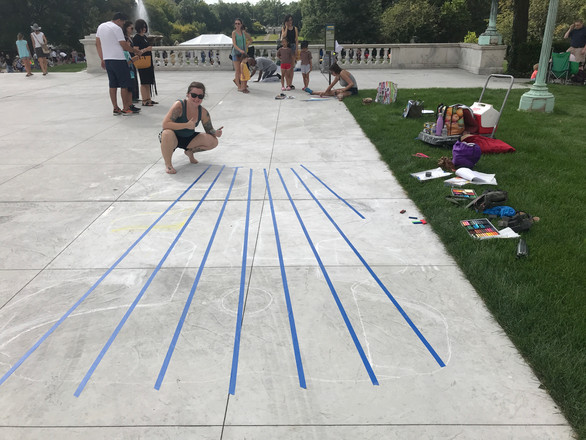 Cleveland Museum of Art Chalk Festival