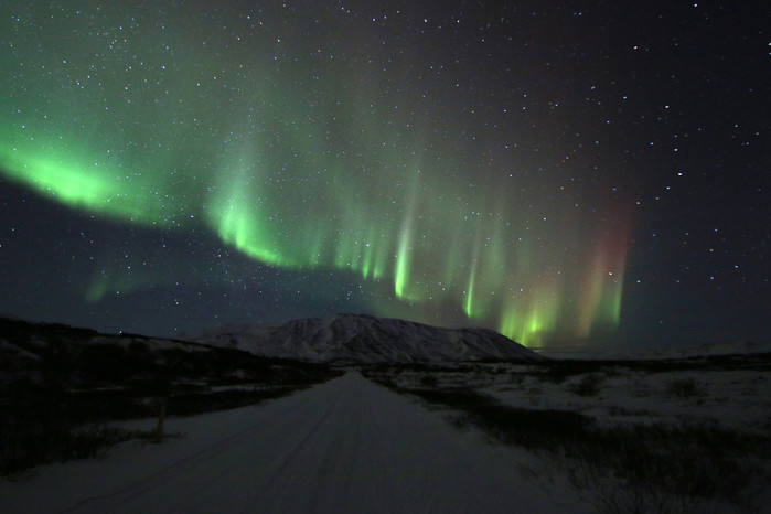 How we met the Northern Lights in Iceland, twice!