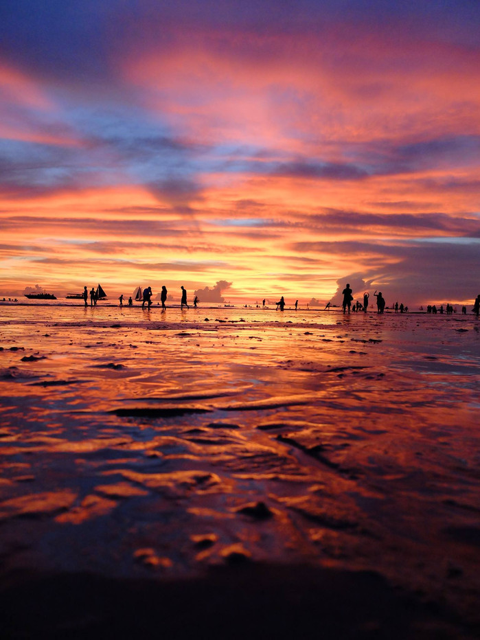 Boracay - One of the world's best sunset spots.