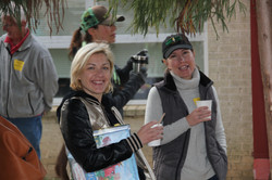 Parents enjoying coffee!