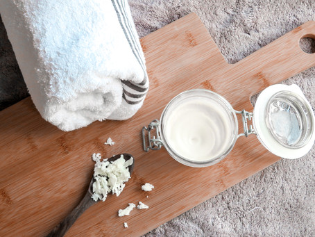 DIY Body butter (only 2 ingredients)
