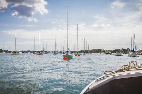 Marina Boats Photo Print