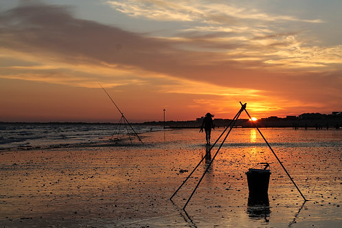 Fisherman Sunset - Photo Print