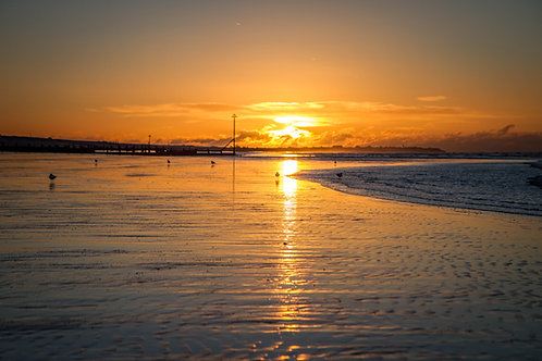 Low Tide Sunrise - Photo Print