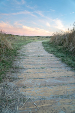 West Wittering Sun rise path