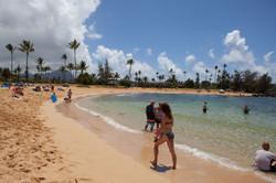 poipu beach, kauali, Hawaii