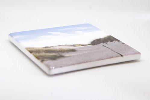Ceramic Sand Dunes Coaster