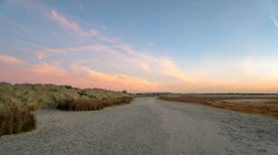 Sunrise seascape at West Wittering