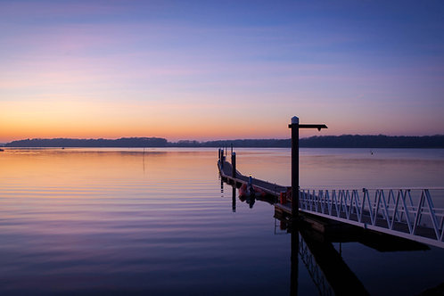 Post Sunset At Chichester Marina - Photo Print