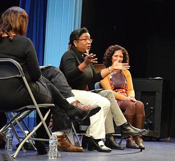 Nia Ngina Meeks as a moderator