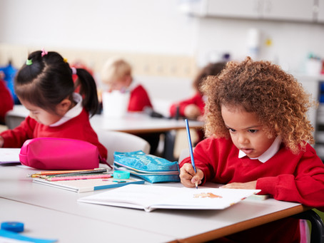 The effect of the pandemic on young children's handwriting