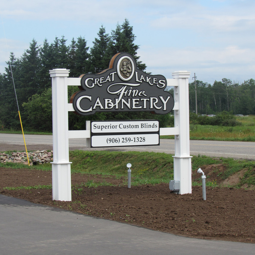 New sign on 3 Mile Road