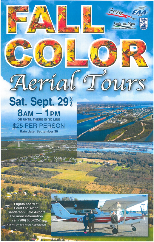 See the fall colors from the sky