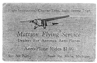Mattson's Flying Service