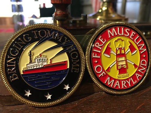 Tommy Challenge Coin  #1