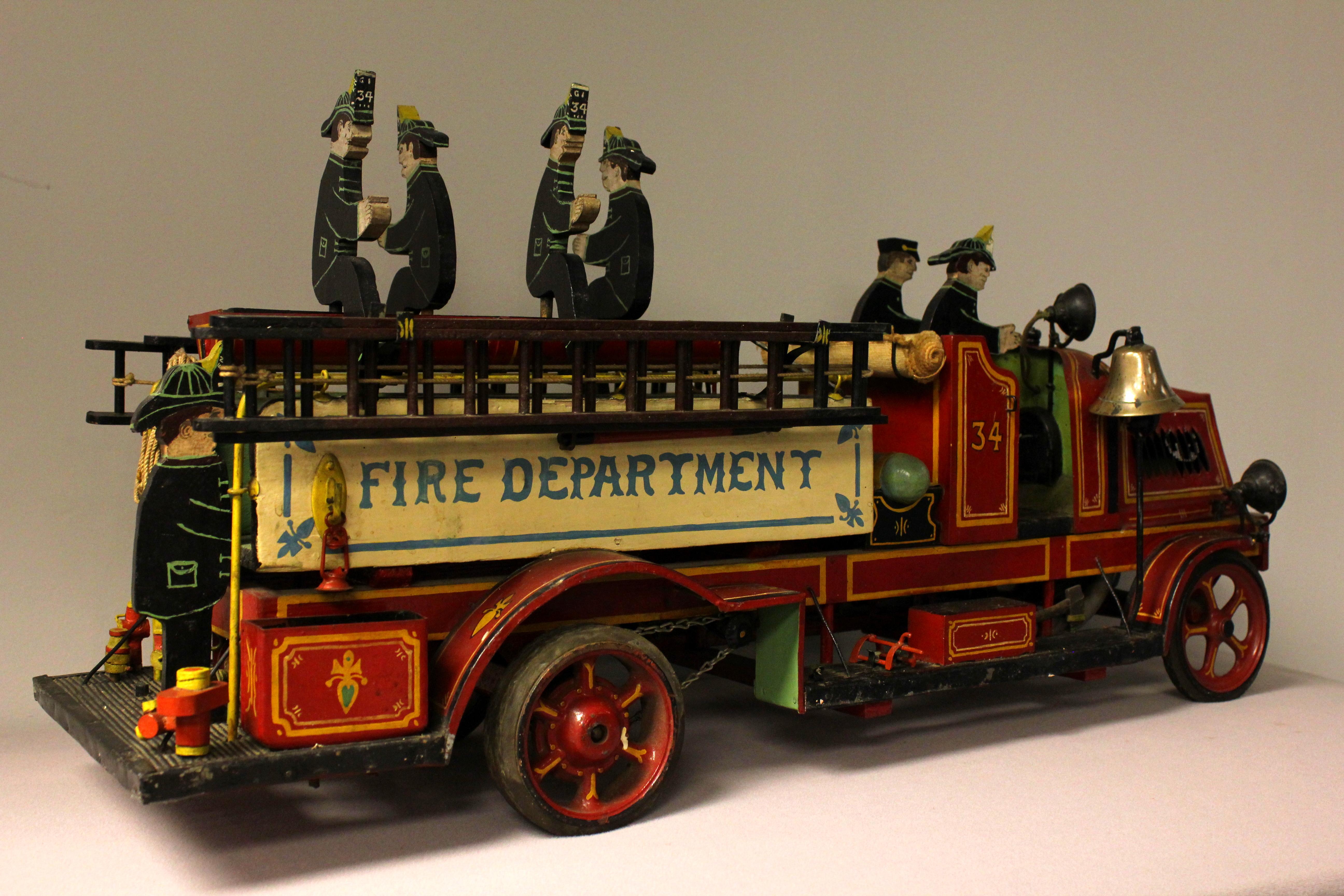 Fire engine model