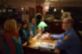 Girl Scouts learn about telegraph communication