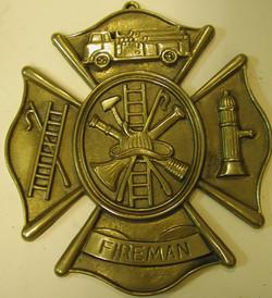 Firefighter's badge
