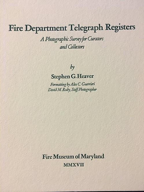 Fire Department Telegraph Registers