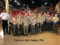 Troop 54 o York, PA