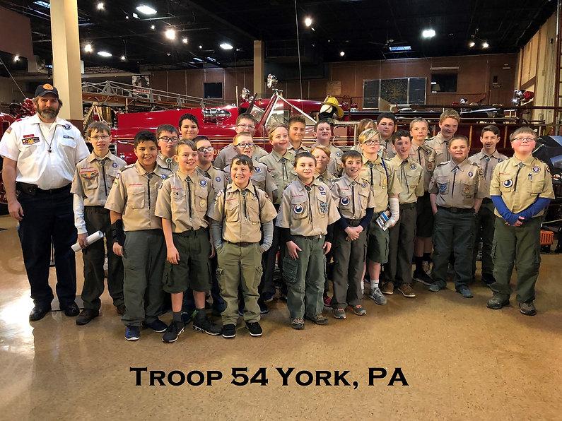 Troop 54 o York, PA
