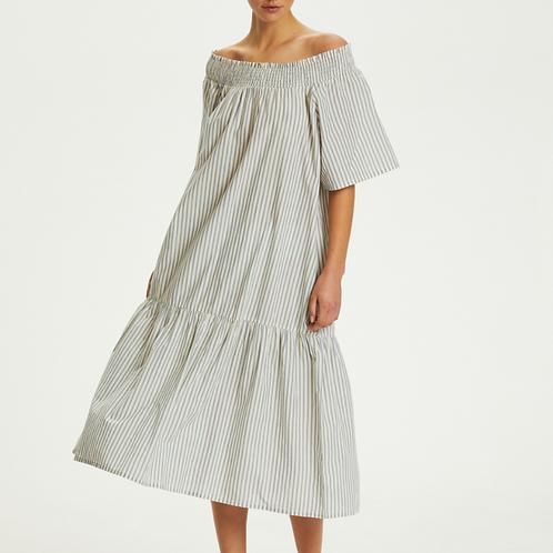 Calville Stripe Dress - Soaked in Luxury