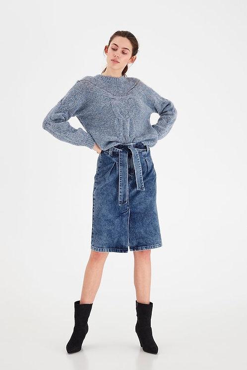 Omega Denim Skirt - ICHI