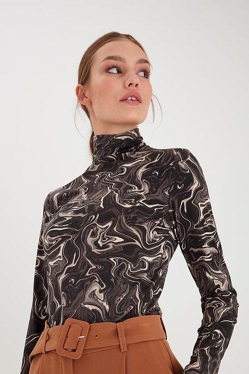 Kirsta Long Sleeved Top - ICHI