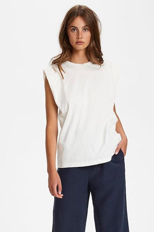 Eryka Padded Sleeveless T-Shirt - Soaked in Luxury