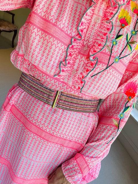 The Pink Sparkle Belt (55mm)