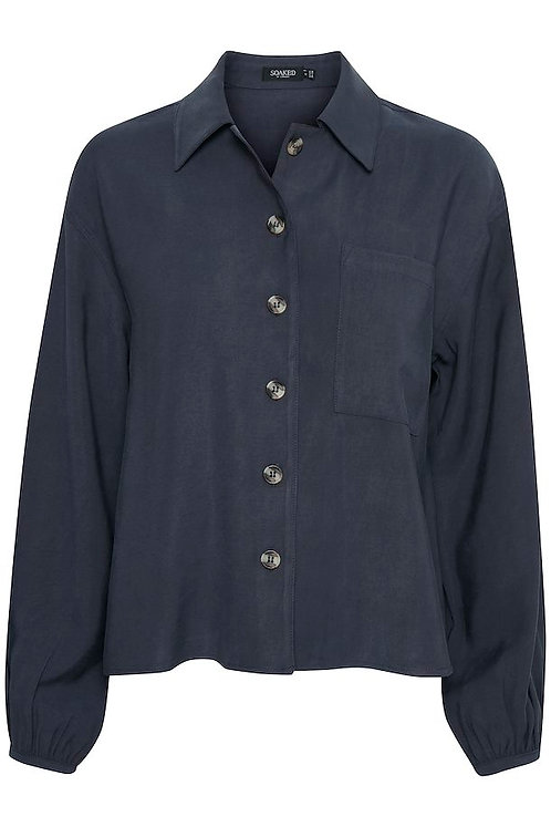 Enid Shirt/Jacket - Soaked in Luxury