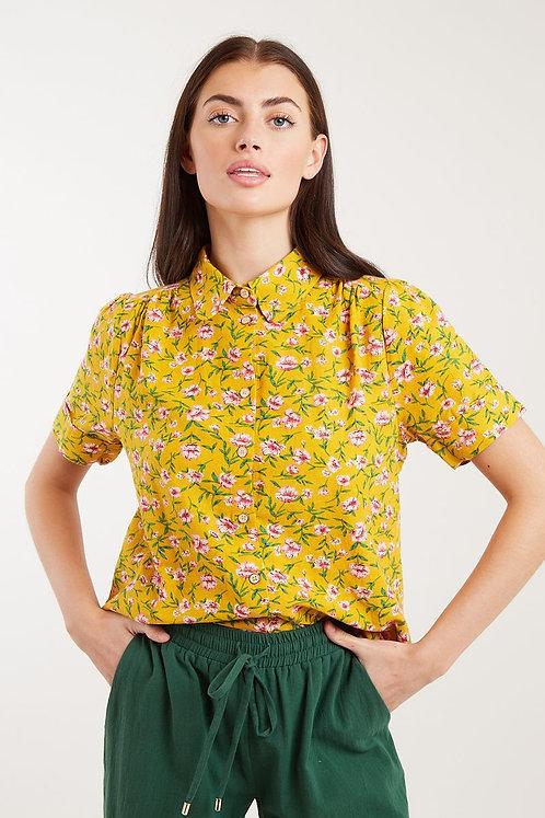 Barclay Dogrose Short Sleeve Shirt -Louche