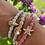 Thumbnail: Coral Starfish Bangle Band - ByEloise London