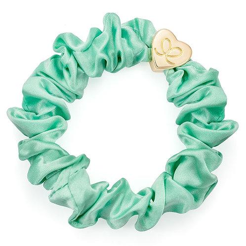 Mint Silk Scrunchie - ByEloise London