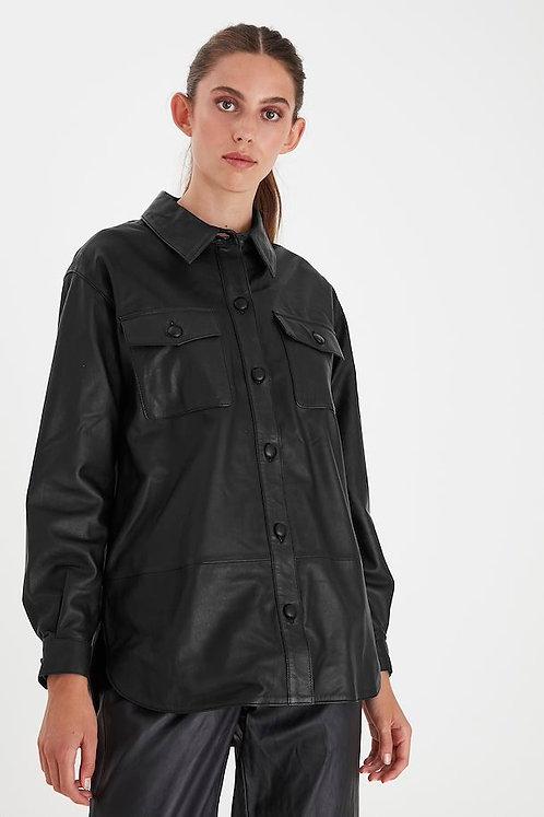 Yohanna Leather Shirt/Jacket - ICHI