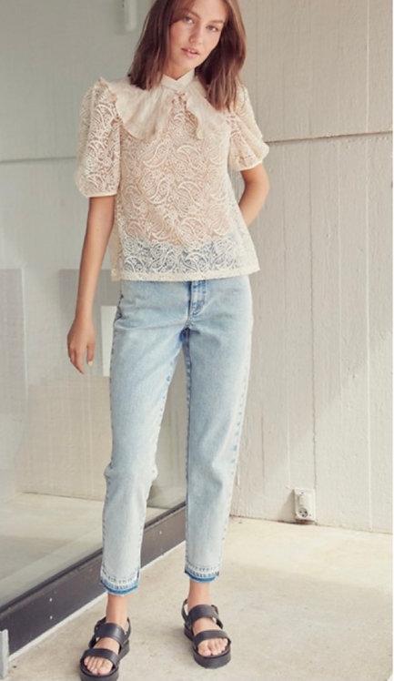 Mada Stone Wash Jeans - ICHI