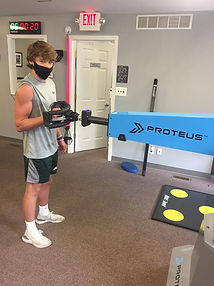 Athlete patient using the Proteus