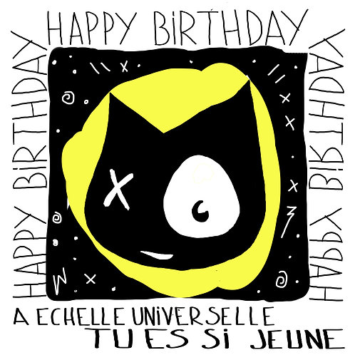 HAPPY BIRTHDAY - CP
