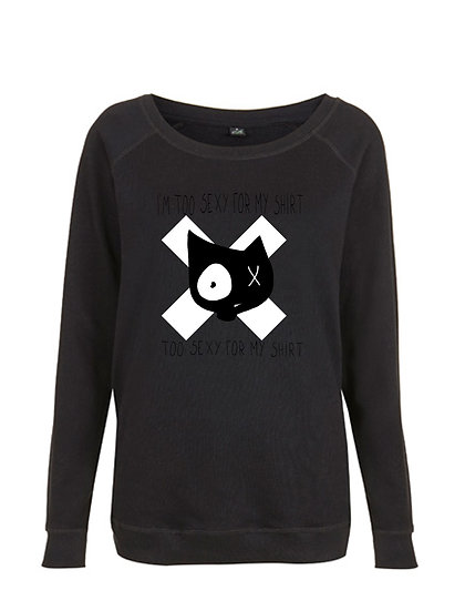 SWEAT-SHIRT - CROSS  - FEMME