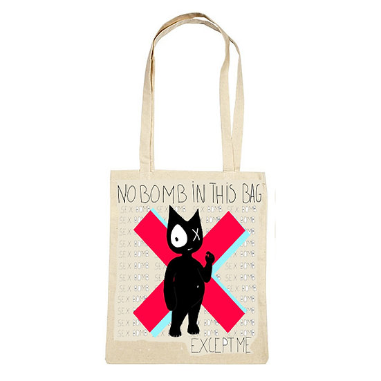 TOTE BAG - NO BOMBS