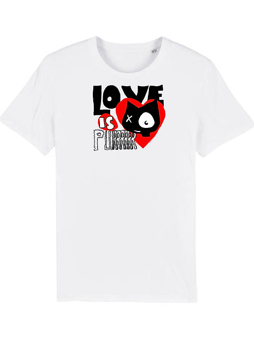 T-SHIRT - LOVE IS PURRR
