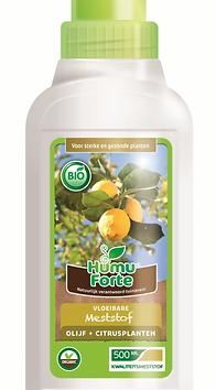 Vloeibare bio meststof olijf citrusplant
